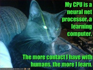 The T800 cat sums motor learning up nicely.