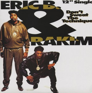 Unless you are Eric B or Rakim, you should sweat the technique.
