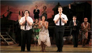 Ain't no dysfunction on this stage. If you haven't seen Book of Mormon you are missing out.