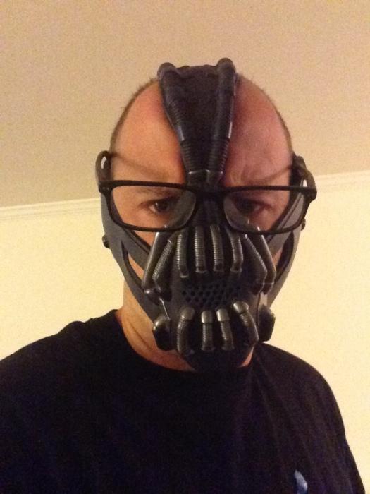 Lift scores 6/5 with the Bane mask on. #alternatingandreciprocalwarrior