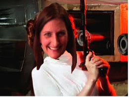 And she doesn't mess with stuck up, half-witted, scruffy-looking Nerf herders