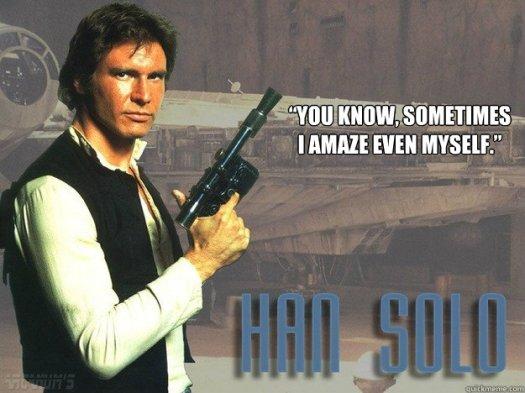 Just wait until you hear my Jabba the Hutt impression